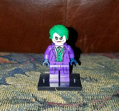 DC Super Heroes Lego minifigure 76023 Joker sh133 Pristine condition Ledger