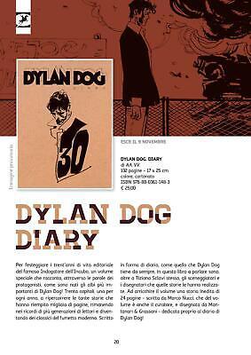DYLAN DOG DIARY Tavola Originale Montanari & Grassani 3