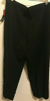 Women's Dress Pants/Fit Elastic Waistband Comfort/ Pockets/Size 18 /Made in USA 4