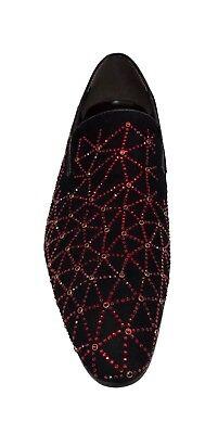 Zota Unique Men/'s Gold Diamond Design Fashion Suede Loafers GF6628-122