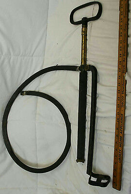 "28.5"" Vintage Steel Hand Water Pump Steampunk 12"