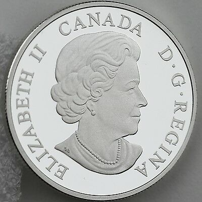 Canada 2014 Lake Ontario $20 1 oz Pure Silver Enameled Proof Coin Great Lakes #2 4