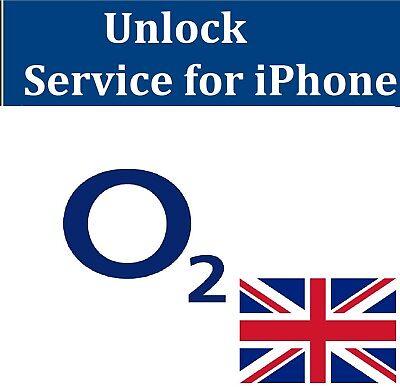 Unlock Service For O2 UK /TESCO UK FOR iPhone 6S 6 6 plus SE 5S 5C 5 4 7 8 8+ X 2