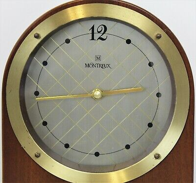Vintage JUNGHANS Quartz Montreux Reese's Hershey Clock - Made In Germany 2