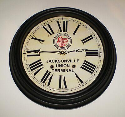 Atlantic Coast Line Florida Jacksonville Union Terminal Waiting Room Clock 1920s 3