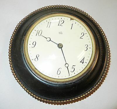 Vintage Antique Clock and Barometer Lot Heavy and Very Old Please see Pictures 3
