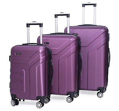 Reisekoffer 1509 Koffer Trolley Hartschalenkoffer Handgepäck M L X Set 2