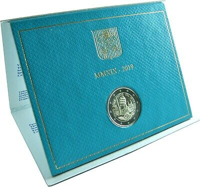 Vatikan 2 Euro 2019 Stgl 90 Jahre Gründung des Staates im Folder 2