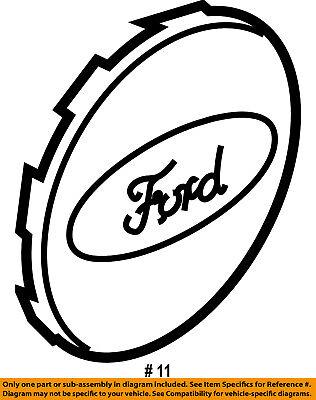 Ford Explorer Edge Flex 17 5 Spoke Wheel Center Cap Genuine Ford