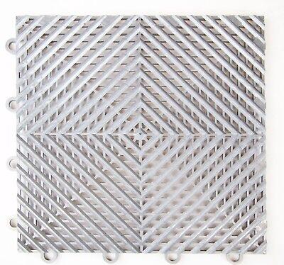"IncStores Nitro Vented Garage Floor Tiles 12""x12"" - Winter Snow Water Drainage"