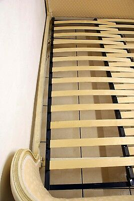 Adjustable SLATTED Bed Base French Demi Corbeille Upholstered Double Beds 6