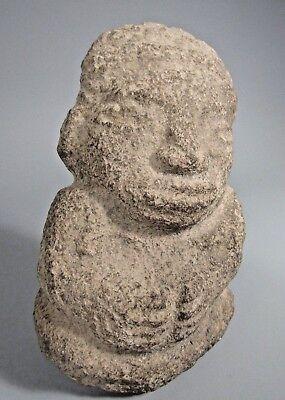 Costa Rica Nicoya Carved Stone Anthropomorphic Idol Statue ca. 500-800 AD 4