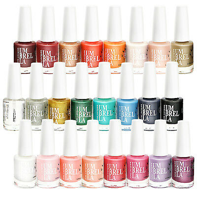24 x Luxury Nail Polish Varnish Set 24 Different Colours 11ml Quick Dry EU Made 2