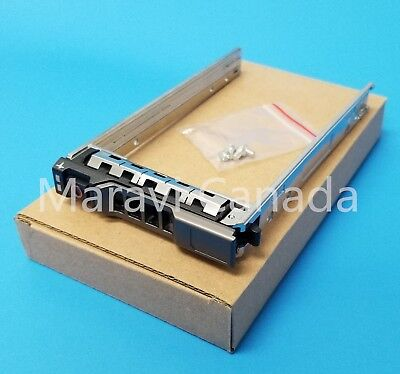 "Dell G176J G281D 2.5"" Hard Drive Tray Caddy R610 R620 R710 R720 R810 R910 T710 3"