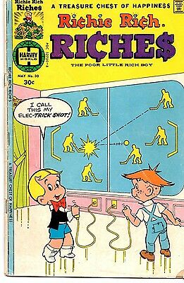 Richie Rich Riches (Lot of 4 Vintage Bronze Age Comic Books) 8 • $9.99