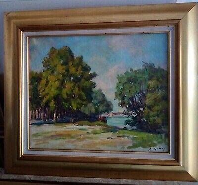 Albert GENTA (1901-1989) Huile sur toile 6