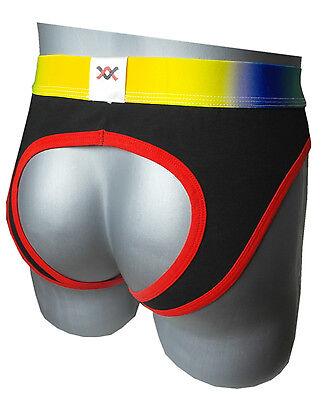 Herren Slip Sexy mit Ausschnitt auf der Rückseite - Baumwolle 2
