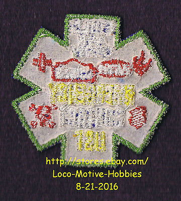 LMH PATCH Badge EMERGENCY CONTACT LIST Phone EMT Build Grow LOWES Kids Clinic