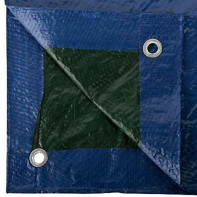 Telo Pvc Telone Occhiellato Esterno Impermeabile Esterno Blu Gazebo Piscina Wnd 6