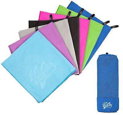 Microfibre Towel Travel Large Bath Camping Sports Beach Gym Yoga Quick Dry Towel 2