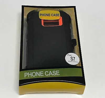 For Samsung Galaxy S7 Defender Case (Belt Clip Fits Otterbox) 4