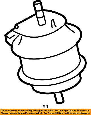 Infiniti Nissan Oem 06 10 M45 Engine Motor Mount Torque Strut