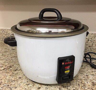 25 Cups (50Cups Cooked)New Heavy Duty Non-Stick Rice Cooker/Warmer with ETL/NSF 2