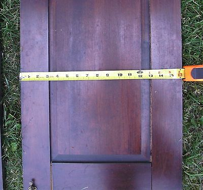 """Antique Vintage Pair Cabinet Doors from Old School Chemistry Lab 30"""" Tall 7"""