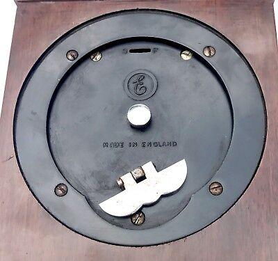 ELLIOTT LONDON Walnut Bracket Mantel Clock GARRARD & CO  112 REGENT ST LONDON 10
