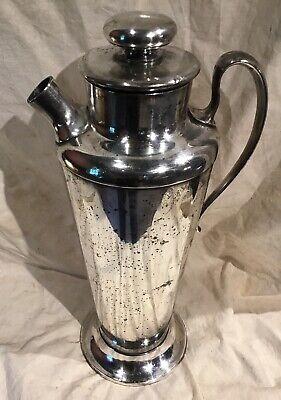Meriden International Silver Plate No 314 Cocktail Shaker 56 Ounce Art Deco Era 12
