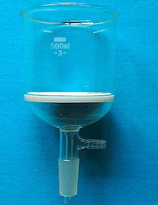 2000ml,Glass Suction Filtration Kit,500ml Buchner Funnel & 2L Erlenmeyer Flask 4