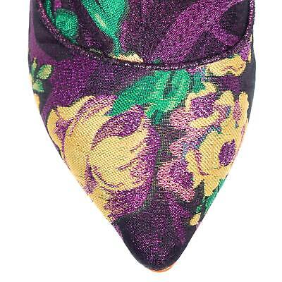 Irregular Choice NEW Ms Vivacious pink yellow purple floral ankle boots 3-9