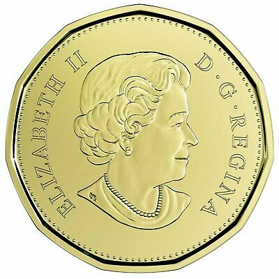 2019 Canada $1 Equality BU Loonie From Special Wrap Roll Coin 2