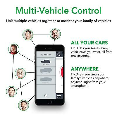 FIXD OBD-II OBD2 Active Car Health Diagnostic Monitor - 2nd Generation 7