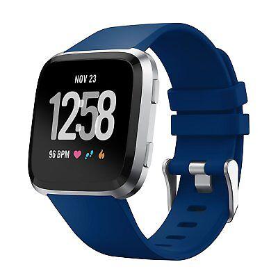 Fitbit Versa/Lite/Versa 2 Replacement Band Wristband Silicone Sports Watch Strap 11