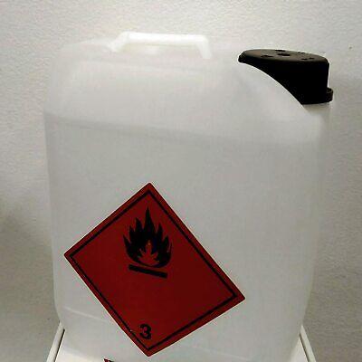 Alcool Isopropilico Bottiglia 5Lt Pulizia Plastica Vetri Ottiche Ossido Alcol 10