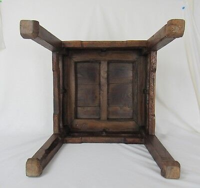 A pair of Chinese Antique Cafe Table /Stool Ming Dynasty Style 6
