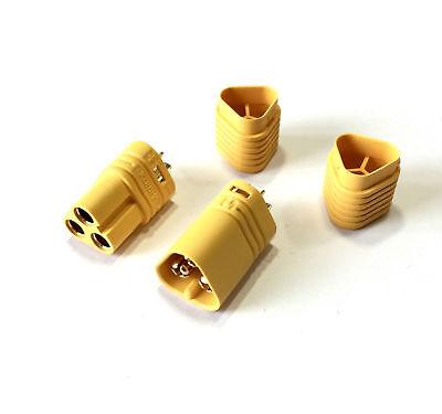 10 Paar MT60 Amass 3Pin Goldstecker Stecker Multirotor Brushless Motor Regler RC