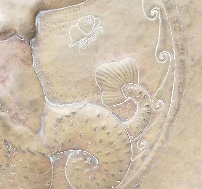Antique Vintage 20th Century Art Nouveau Decorative Charger Signed Dutch Austria 5