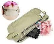 Travel wallet Security Money Ticket Passport Holder waist packs Belt purse bag