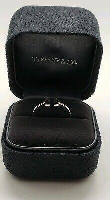 Tiffany&Co T Square Ring In 18K White Gold 5