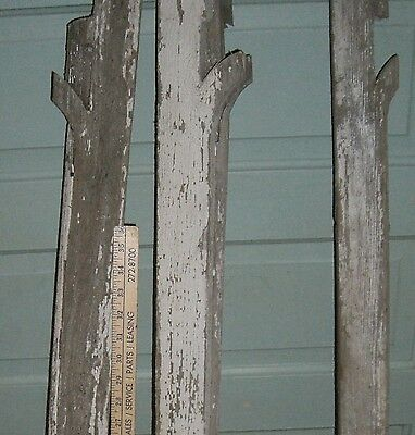 "Antique Victorian  Arch Corbel Architectural  Salvage BRACKET 40 "" long 2"