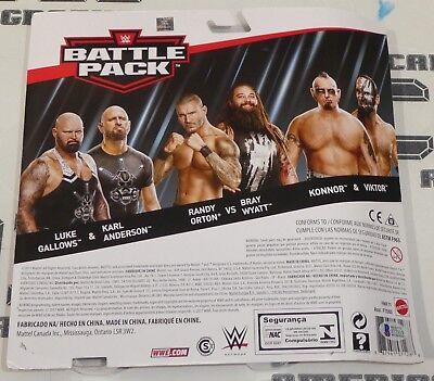 WWE  Battle Pack Luke Gallows /& Karl Anderson Randy Orton /& Bray Wyatt **lot 2*