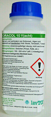 Boracol 10Y  Algen und Schimmel  Yacht , 1 / 5 Liter, lavTOX  (13,40 -25 € / l) 2