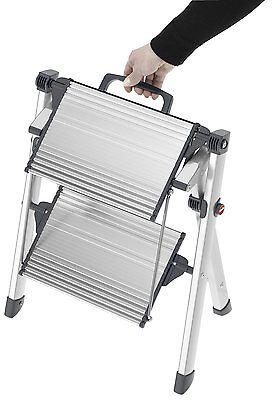 Hailo Mini Comfort Klapptritt Aluminiumtritt MK80 ComfortLine