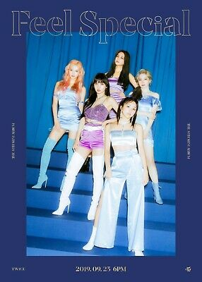 US SHIPPING Twice Feel Special Album CD+Poster+Book+Lyric+Card+PreOrder 10
