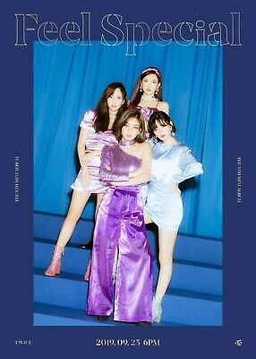 US SHIPPING Twice Feel Special Album CD+Poster+Book+Lyric+Card+PreOrder 11