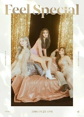 US SHIPPING Twice Feel Special Album CD+Poster+Book+Lyric+Card+PreOrder 7