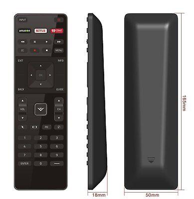 XRT122 for Smart TV Vizio Remote Control w Amazon Netflix IHeart Radio APP Key 6