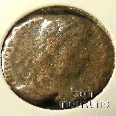 First Christian Empire ROMAN BRONZE COIN Genuine Ancient Antique from 306-410 AD 8